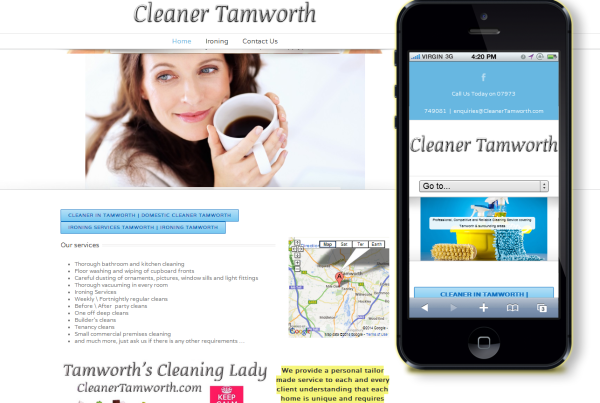 cleaning tamworth
