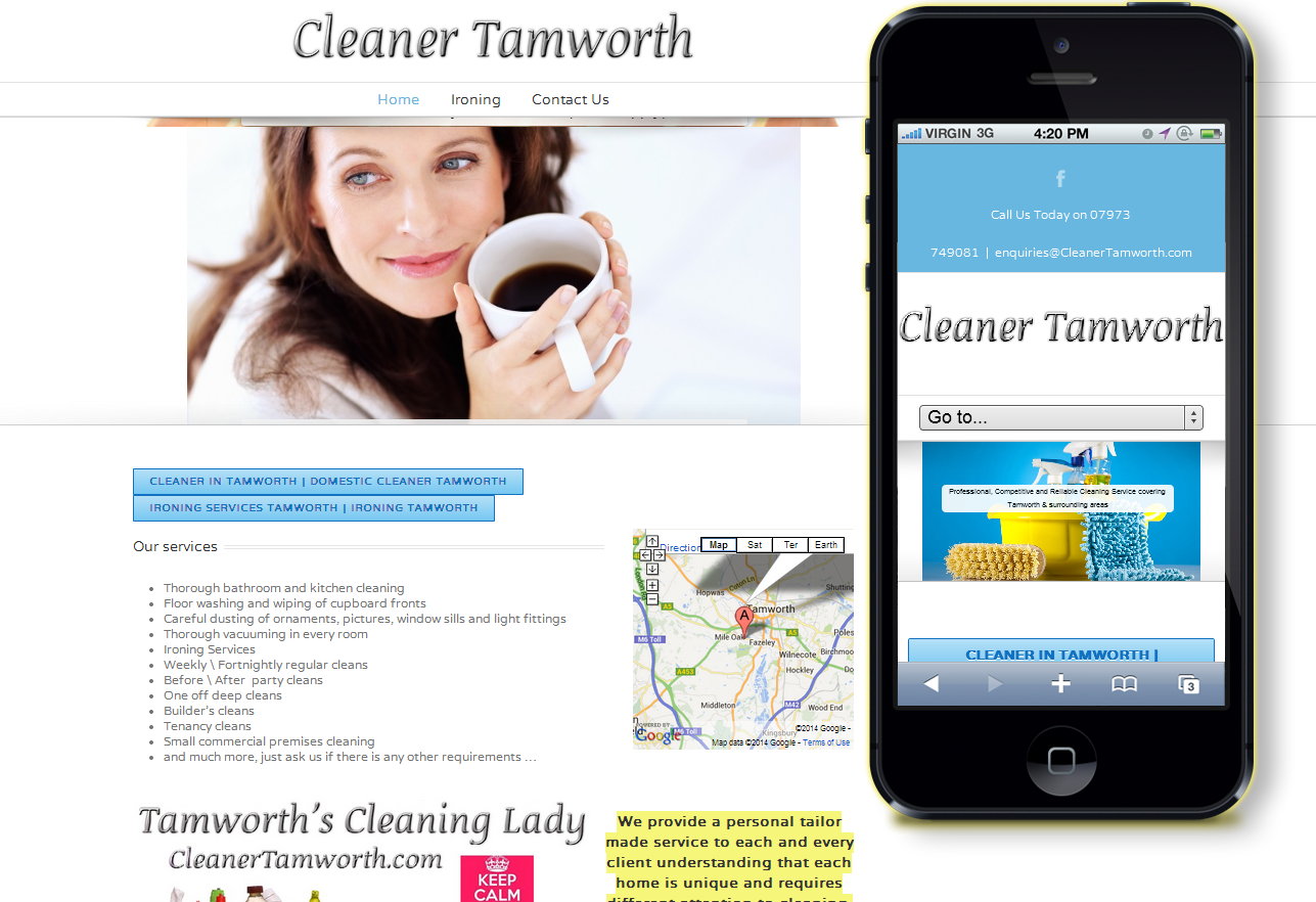 cleaning tamworth